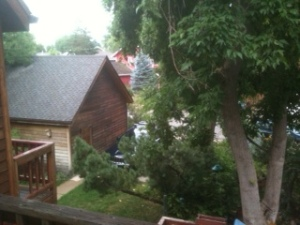 View from my porch, July 2013